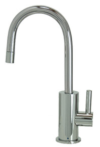 "Mountain Plumbing MT1843-NL-PVDPN ""The Little Gourmet"" Point-of-Use Drinking Faucet - PVD Polished Nickel"