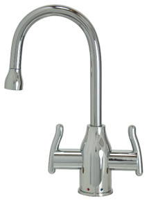 Mountain Plumbing MT1801-NL-SC Instant Hot & Cold Water Dispenser Faucet - Satin Chrome