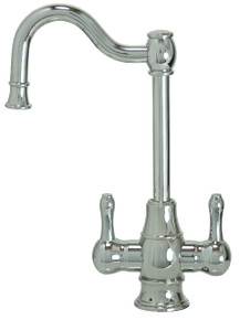 "Mountain Plumbing MT1871-NL-PVDBRN ""The Little Gourmet"" Hot & Cold Water Faucet - PVD Brushed Nickel"