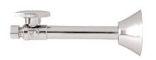 Mountain Plumbing MT317-NL-CPB Brass Oval Handle Straight Sweat Valve - Polished Chrome