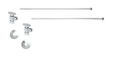 Mountain Plumbing MT493BO-NL-PN Lavatory Supply Kit - Angle - Polished Chrome