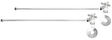 Mountain Plumbing MT493BX-NL-PN Lavatory Supply Kit - Angle - Polished Chrome