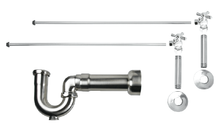 Mountain Plumbing MT616MASS-NL-PN New England Lavatory Supply Kit - Angle - Polished Chrome