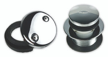 Mountain Plumbing  MT94-2-ORB   Soft Toe Touch Round Tub Drain Trim Kit  - Oil Rubbed Bronze