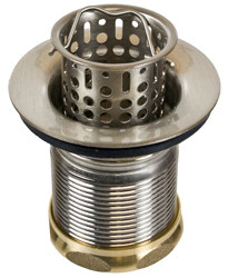 Mountain Plumbing  MT710-TB  Brass Bar or Food Prep Sink Strainer  - Tuscan Brass