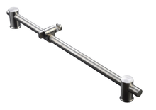 Mountain Plumbing  MT9SR-PN  Stainless Steel Adjustable Slide Bar Shower Rail  - Polished Nickel