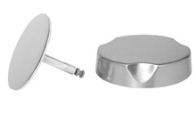 Mountain Plumbing  TRIMM3-SC  Bath Waste and Overflow Trim for Cable-Operated Drains   - Satin Chrome