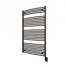 "Ico 29.5"" W x 51"" H Blenheim Hydronic Towel Warmer - Oil Rubbed Bronze"