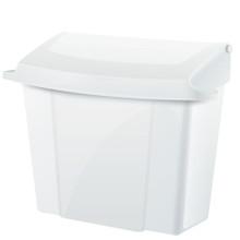 Alpine  451-WHI Sanitary Napkin Receptacle  - White