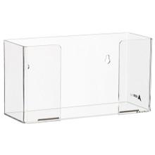 Alpine  902-01 Clear Acrylic Wall Mount 1 Box Glove Holder