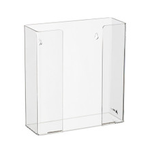 Alpine  902-02 Clear Acrylic Wall Mount 2 Box Glove Holder