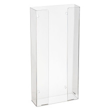 Alpine  902-04 Clear Acrylic Wall Mount 4 Box Glove Holder