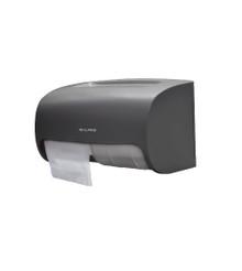 Alpine ALP452-GRY  Side-by-Side Double Roll Toilet Tissue Dispenser - Gray