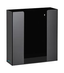 Alpine 902-02-BLK Clear Black Acrylic 2 Box Glove Holder