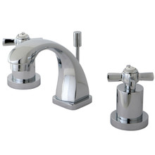 Kingston Brass KS4941ZX Two Handle Mini Widespread Lavatory Faucet - Polished Chrome
