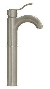 Whitehaus 3-04045-BN Galleryhaus Elevated Single Handle Lavatory Faucet - Brushed Nickel