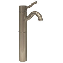 Whitehaus 3-4444-BN Venus Single Handle Elevated Lavatory Faucet - Brushed Nickel