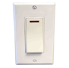 Amba ATW-SA Pilot Light Switch - Almond