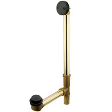"Kingston Brass DTT2205 20"" Tub Waste & Overflow With Tip Toe Drain - Oil Rubbed Bronze"