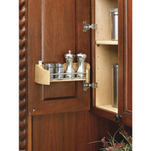 "Richelieu 42311152 Door Storage Tray 10 3/4"" Wide - Natural Maple Wood"