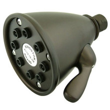 "Kingston Brass K139A5 3-5/8"" Adjustable Shower Head - Oil Rubbed Bronze"
