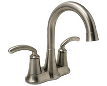 Sir Faucet 7042-BN Two Handle Lavatory Faucet - Brushed Nickel