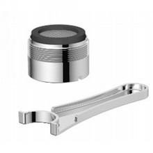 Danze DA613074NBS Jr Male Aerator Kit 1.0 Gpm Spray - Satin Black