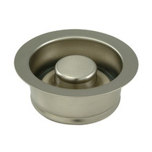 "Kingston Brass BS3008 3-1/2"" Garbage Disposal Flange - Satin Nickel"