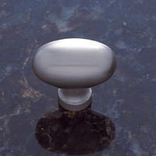 JVJ 35346 Satin Nickel Large Football Door Knob