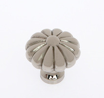 "JVJ 35116 Polished Nickel 35 mm (1 3/8"")  Pumpkin Door Knob"