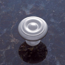 "JVJ 35046 Satin Nickel 1 1/4"" Georgian Door Knob"