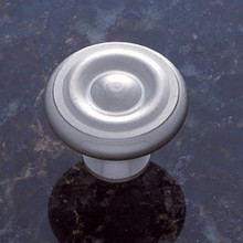 "JVJ 34946 Satin Nickel 1 1/2"" Georgian Door Knob"