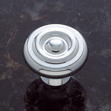 "JVJ 34926 Chrome 1 1/2"" Georgian Door Knob"