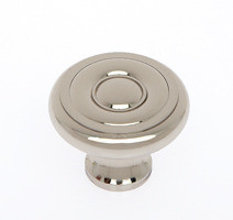 "JVJ 34916 Polished Nickel 1 1/2"" Georgian Door Knob"