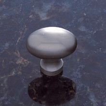 JVJ 32346 Satin Nickel Football Door Knob