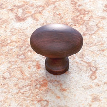 JVJ 32312 Old World Bronze Football Door Knob