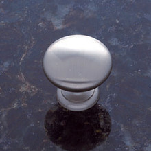 "JVJ 30546 Satin Nickel 1 1/8"" Mushroom Door Knob"