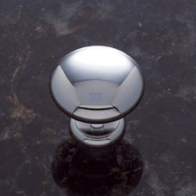 "JVJ 30526 Polish Chrome 1 1/8"" Mushroom Door Knob"