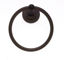 JVJ 23306 Highland Series Old World Bronze Towel Ring
