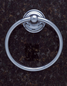 JVJ 22406 Highland Series Chrome Towel Ring