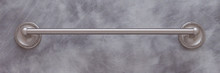 "JVJ 23630 Roped Series Satin Nickel 30"" Towel Bar"