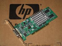 p/n 351384-001 350970-003 Compaq HP Nvidia NVS280 64MB PCI DMS59 Video Graphics Board (with Long Bracket!)