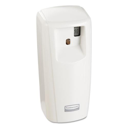Microburst 9000 dispenser automatic air freshener dispenser white lcd dispenser 3.56wx8.75h inch dimensions replaces tec1793535 rcp1793535