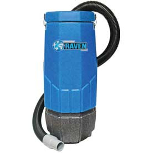 Sandia HEPA Raven 203003 10 quart backpack vacuum with tool kit power head 1340 watts 1 stage