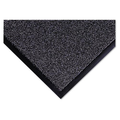 Door mat indoor wiper scraper mat cross over floor mat 3x5 gray color replaces crocs35gra Crown cwncs0035gy