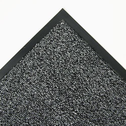 Door mat indoor wiper scraper mat cross over floor mat 4x6 gray color replaces crocs46gra Crown cwncs0046gy