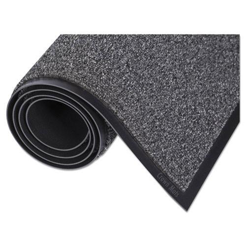 Door mat indoor walk a way wiper mat 3x5 gray color replaces crowa35gra Crown cwnwa0035gy