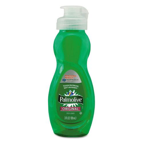 Palmolive manual dishwashing liquid original formula 3oz per bottle case of 72 bottles cpc01417