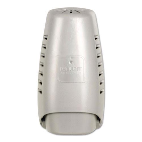 Renuzit wall mount dispenser for renuzit solid air fresheners pearl color case of 6 dispensers renuzit dia04395ct