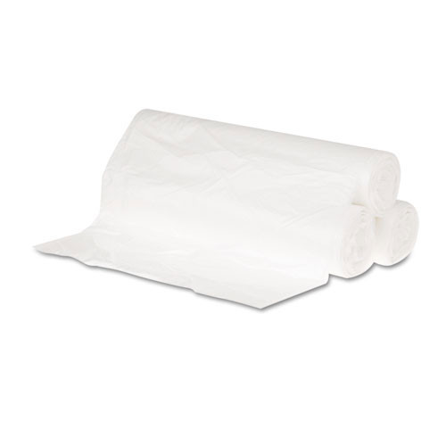 10 gallon trash bags case of 1000 24x23 high density 6 mic eqv regular strength gen242306